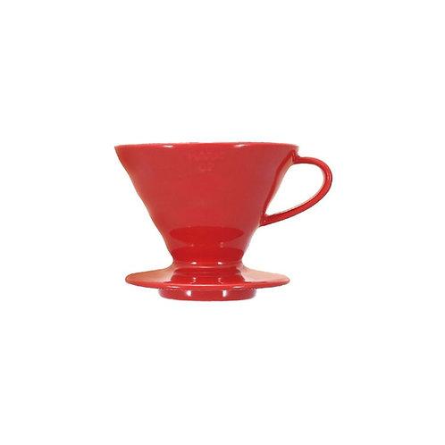 Hario V60 Ceramic Dripper – Red