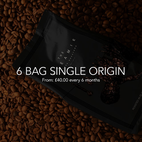 6 Bag Single Origin