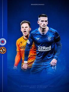 Rangers v Dundee Utd