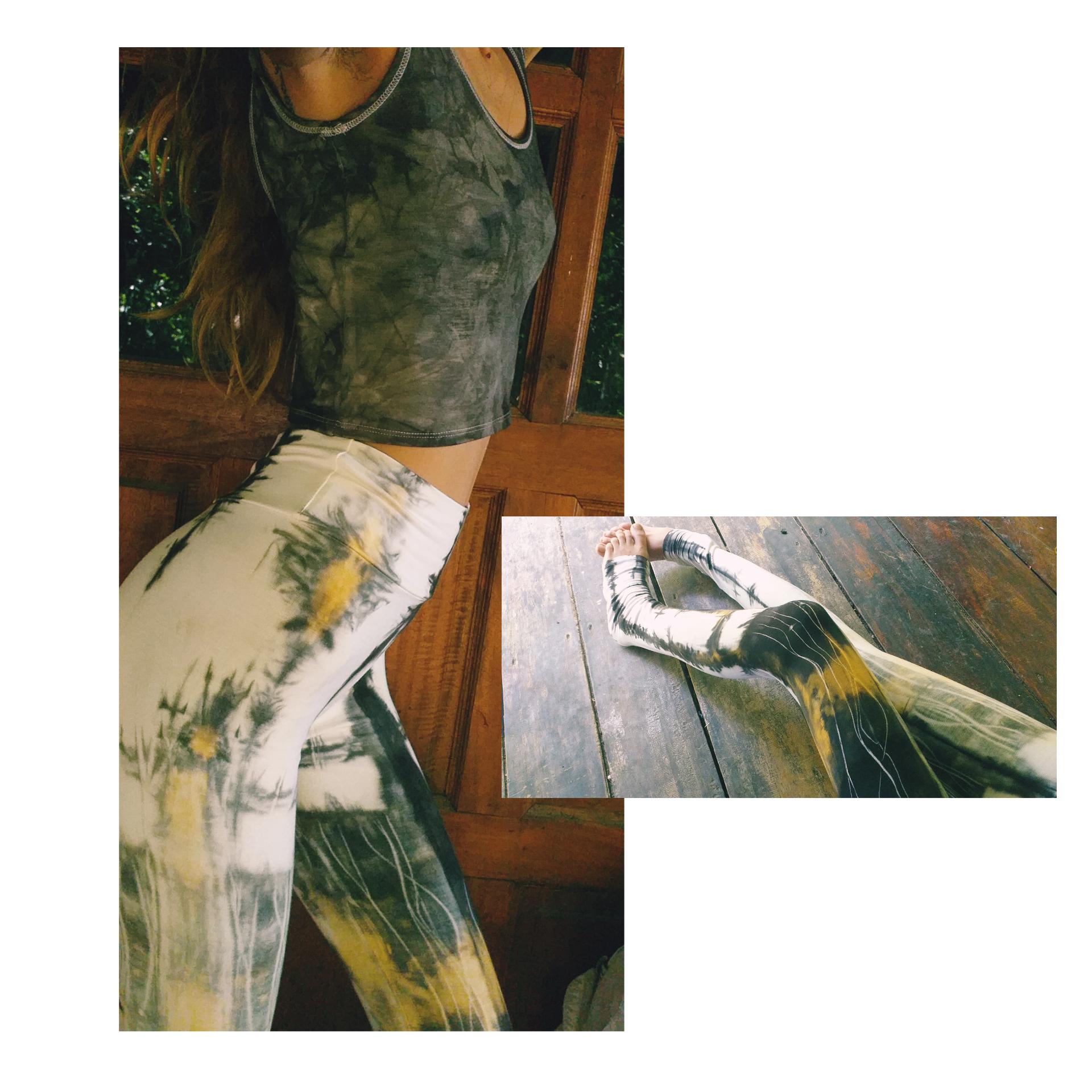 Industrial Dye leggings