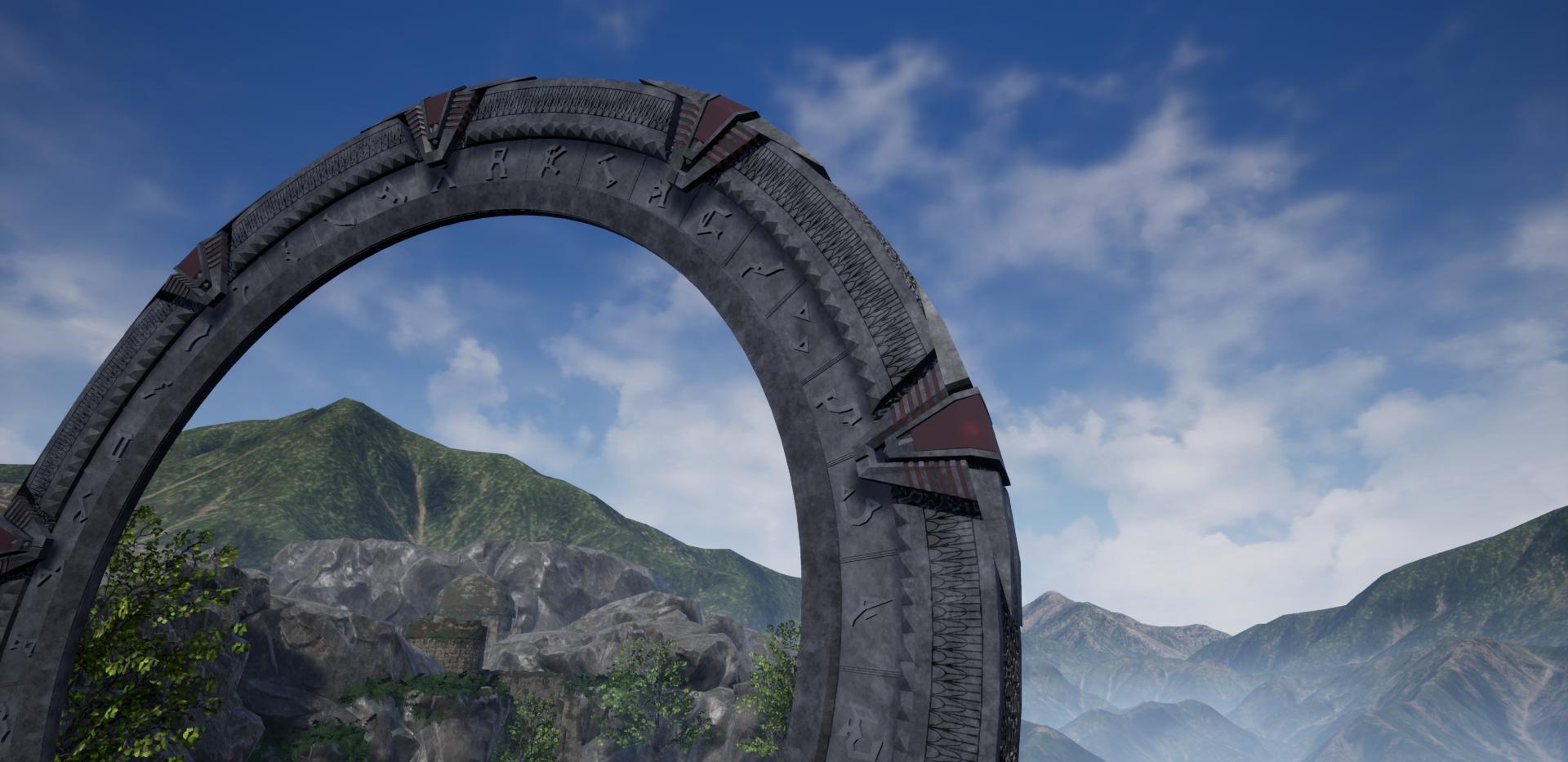 Stargate Closeup
