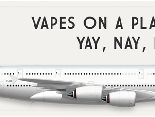 Vapes on a Plane?