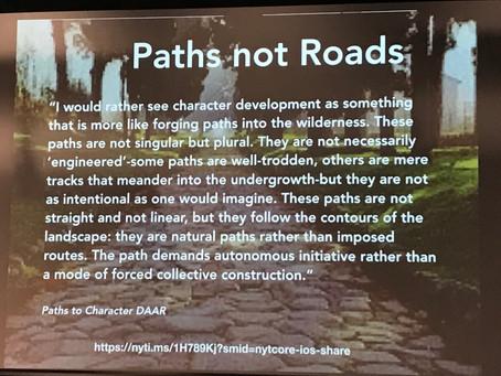 Paths, Not Roads