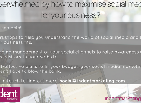 Overwhelmed by how to make the most of social media for your business?