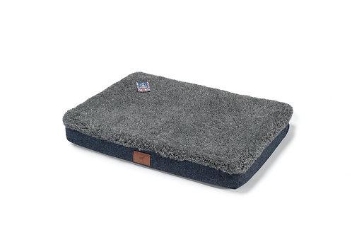 Cobalt Blue (Grey Topper) Mattress Cover