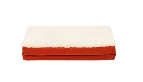 Fire Orange Mattress Cover