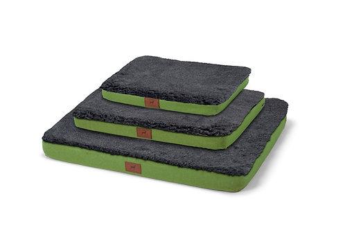 Apple Green Dog Mat (Grey Wool Topper)