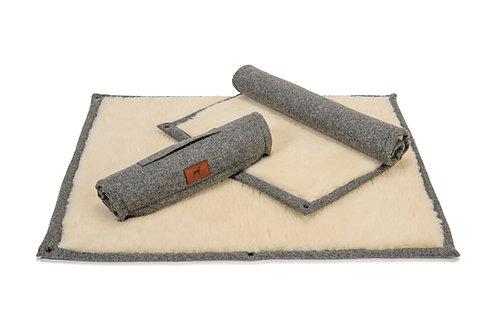 Slate Grey Roll Up Dog Mat