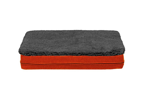 Fire Orange Mat Cover (Grey Topper)