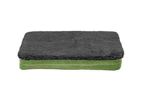 Apple Green Mattress Cover (Grey Topper)