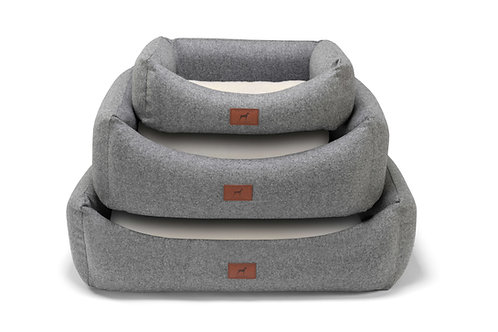 Slate Grey Dog Bed