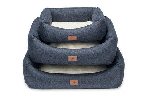 Cobalt Blue Dog Bed