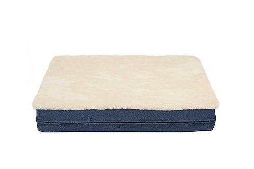Cobalt Blue Mattress Cover
