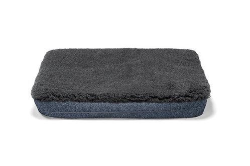 Cobalt Blue Mattress Cover (Grey Topper)