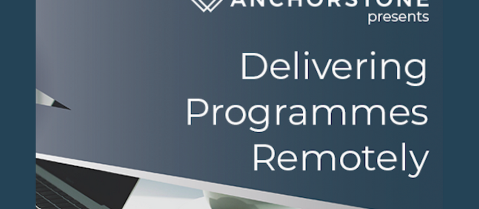 ON DEMAND WEBINAR: Delivering Programmes Remotely