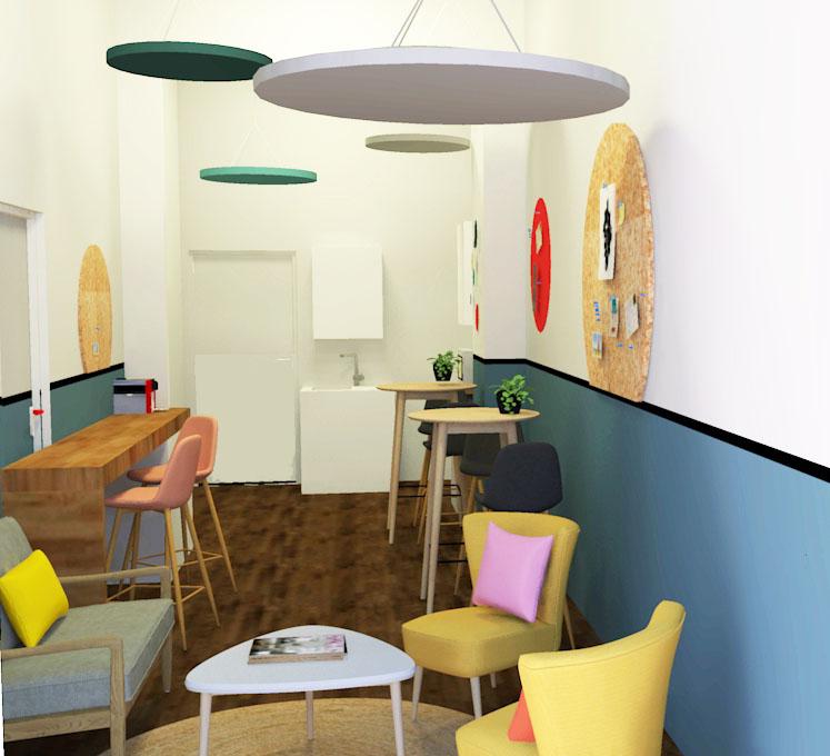 visuel 3D cafeteria
