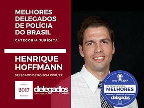 Prêmio melhor Delegado 2017