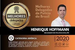 Prêmio melhor Delegado 2020