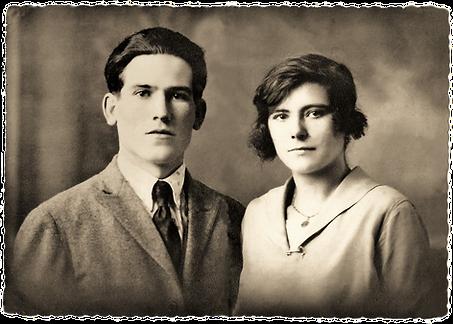 Mes grand parents paternel