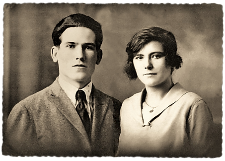 Mes grand parents paternel