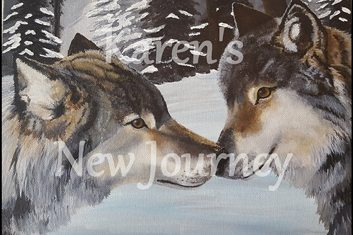Wolf Pair