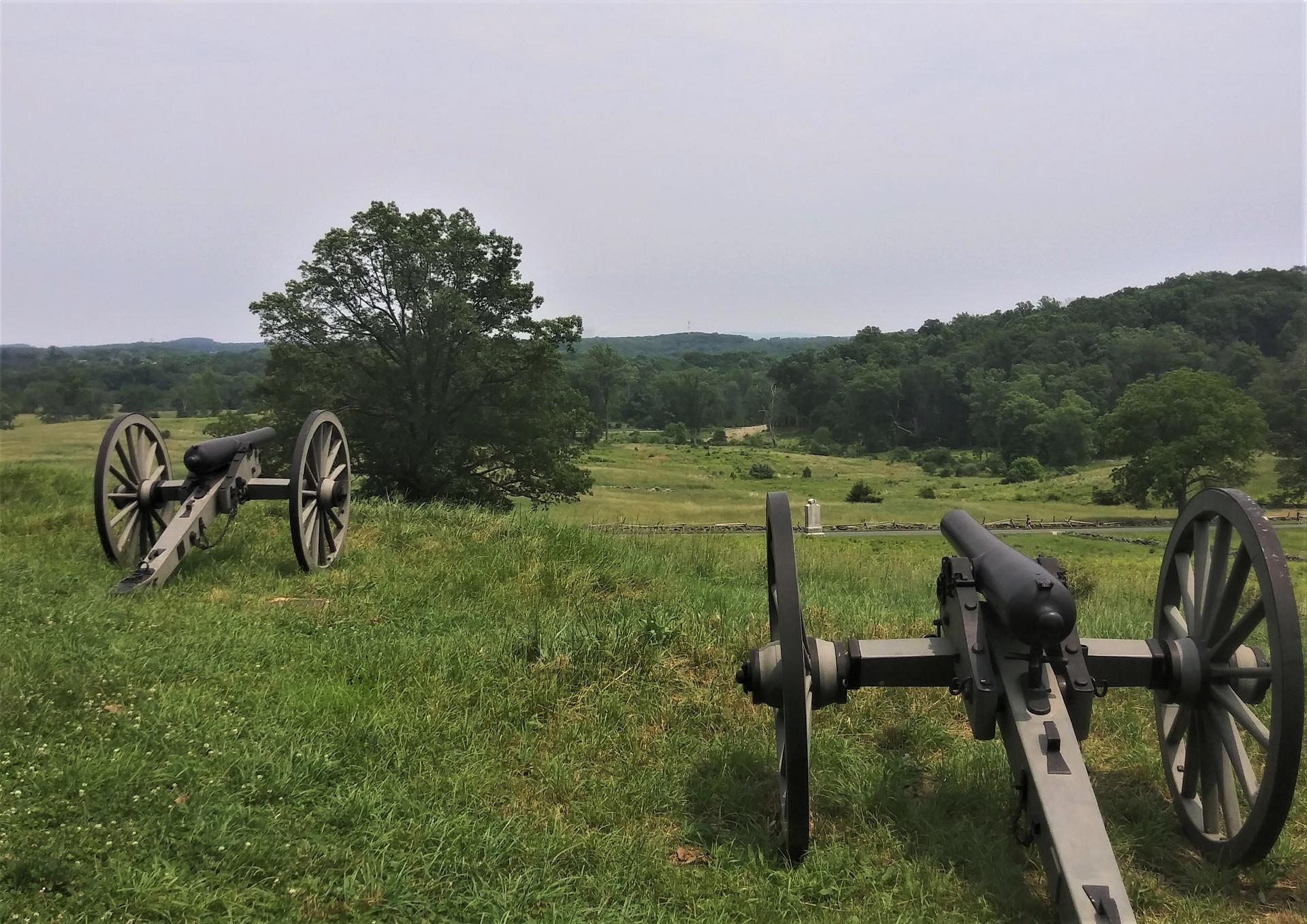 Battlefield of Gettysburg PA