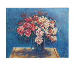 The Vase and Rose flowers