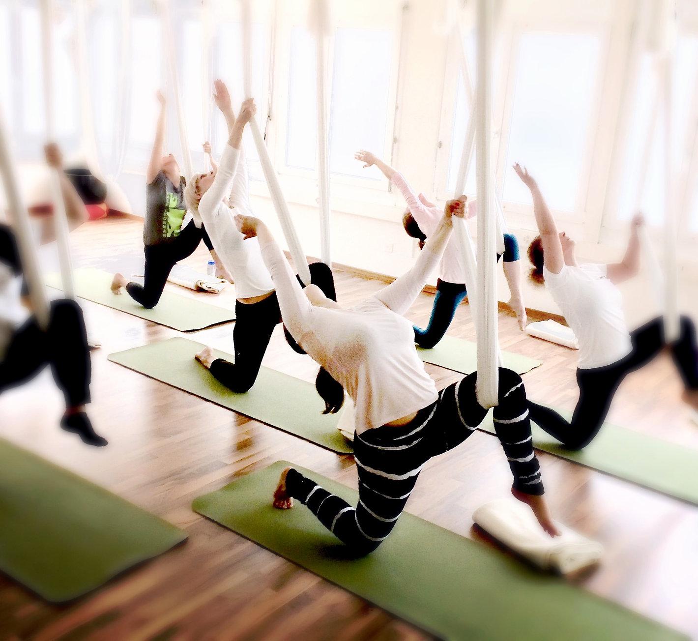 aerial yoga zürich