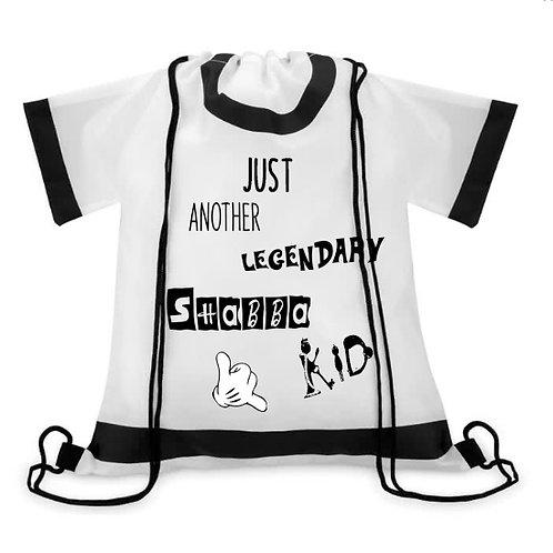 T-Shirt Rucksack weiß