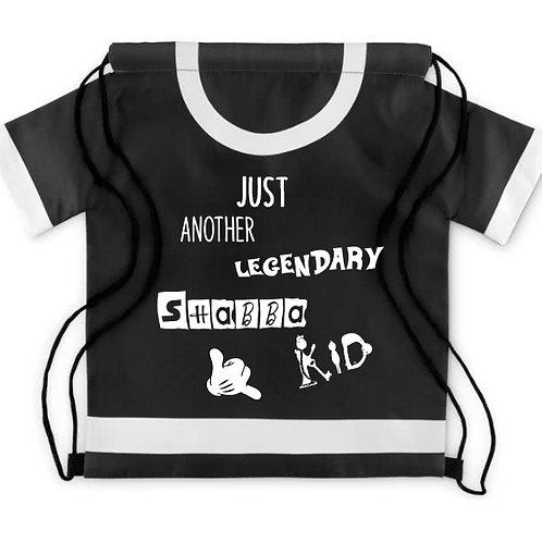 T-Shirt Rucksack schwarz