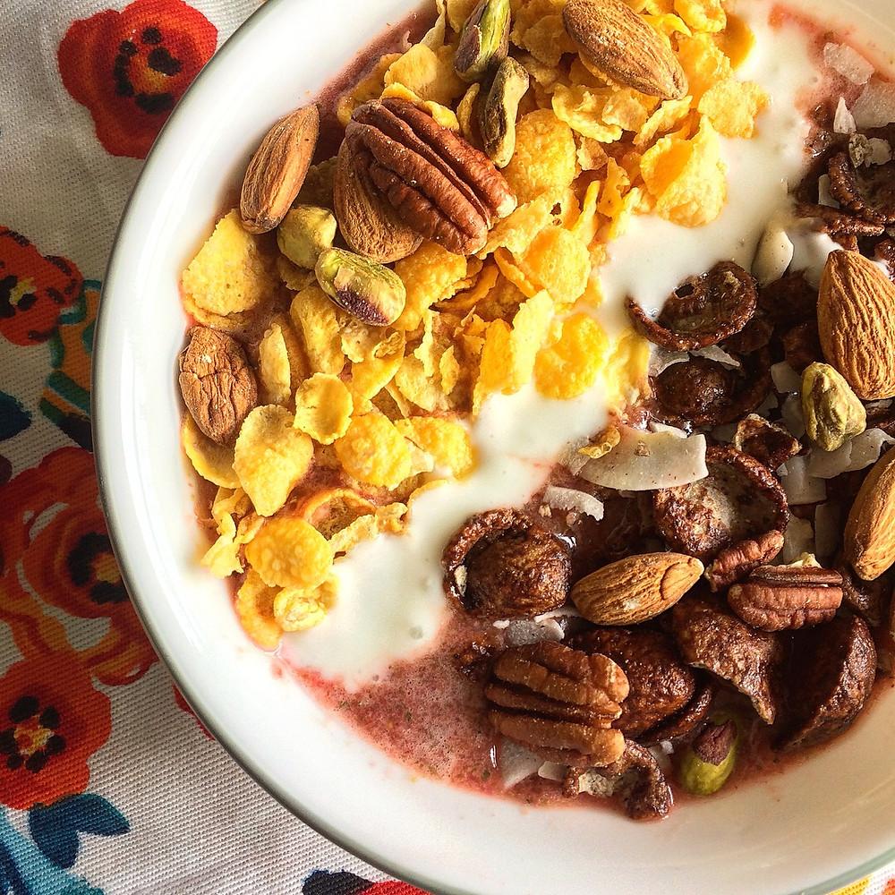 Smoothie Bowl con Ingredientes Caseros (Gluten Free)