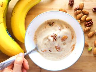 Helado de Plátano Saludable (y fácil de hacer)
