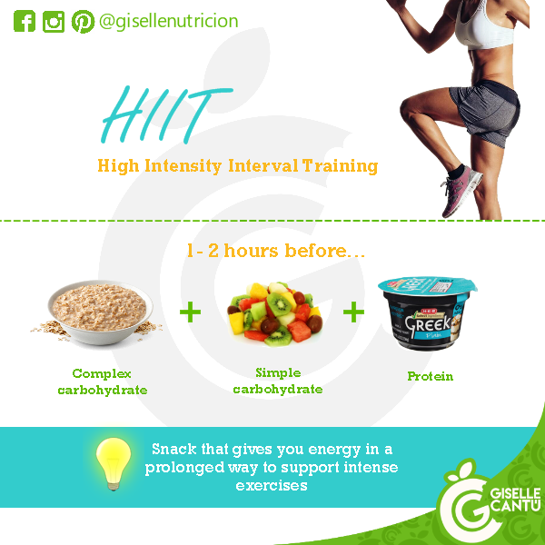 Pre-workout: HIIT
