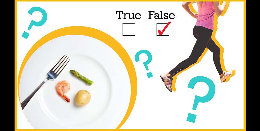 """""""Comer MENOS y MÁS ejercicio"""": La fórmula que todos creemos que es la correcta"""