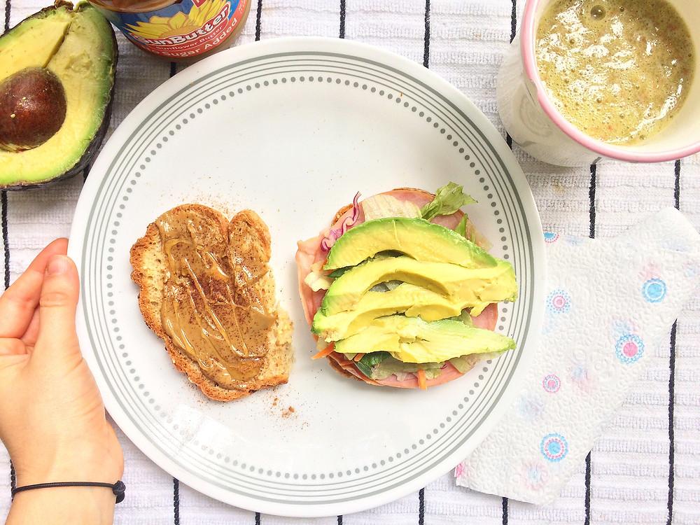 Desayuno dulce-salado fácil, rápido y práctico