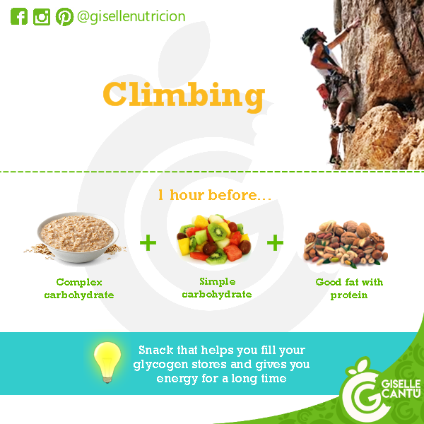 Pre-workout: Climbing