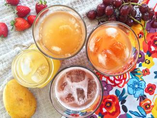 Refrescos simples y saludables hechos en casa