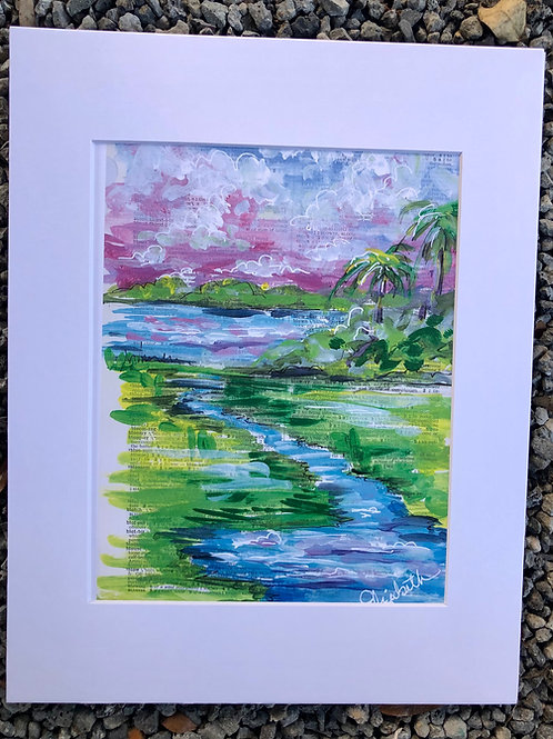 creek palms print