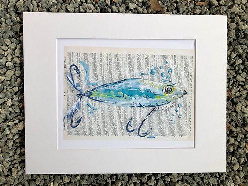 Blue Lure Print