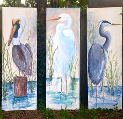 feathered trio beth melton-seabrookeliza