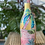 Thumbnail: Hand Painted Wine Bottle