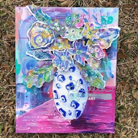 Floral Collage Workshop