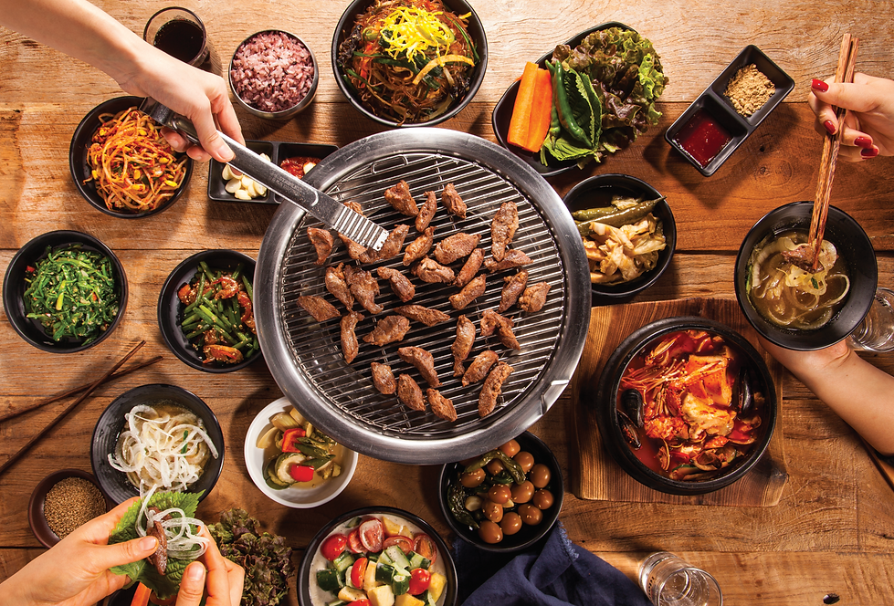 Indulge in galmaegisal (pork skirt meat) reserved for Korean royalties in the past
