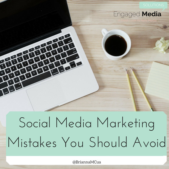Social Media Marketing Mistakes You Should Avoid
