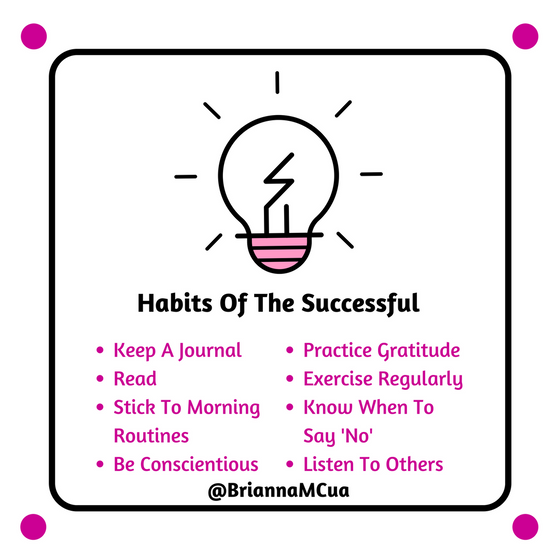 Habits Of The Successful