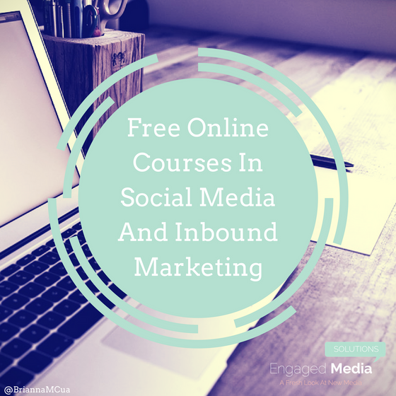 Free Online Courses In Social Media And Inbound Marketing