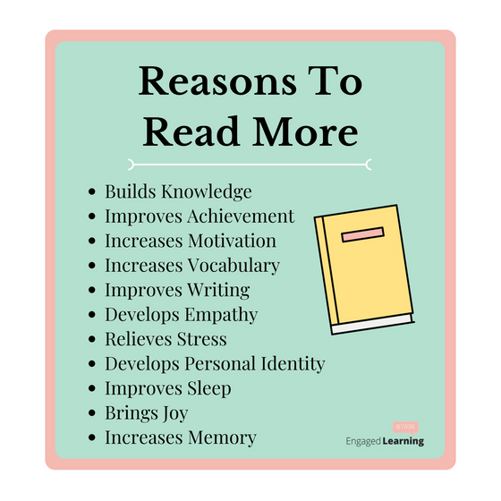 Reasons For Us To Read More