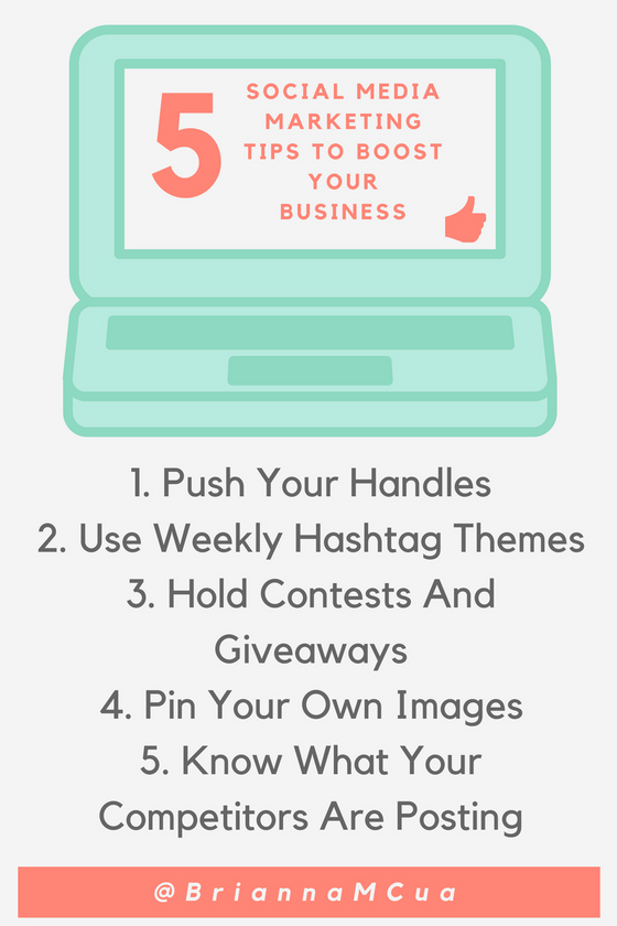 5 Social Media Marketing Tips To Boost Your Business