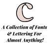 A Collection of Fonts & Lettering For Almost Anything!