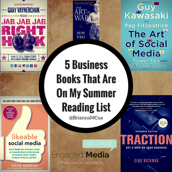 5 Business Books That Are On My Summer Reading List